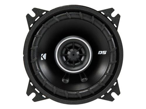 Kicker DS Series 4 Inch 2-Way Coaxial Car Speakers - 43DSC404