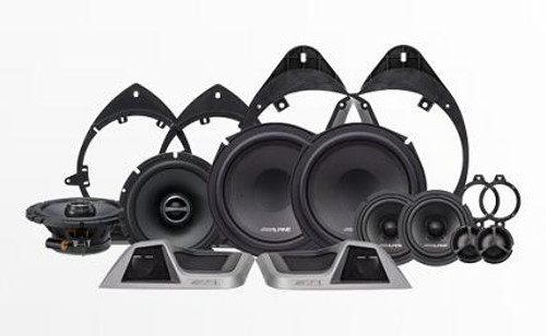 Alpine 3-Way Speaker System for 2014-Up Chevrolet Silverado & GMC Sierra