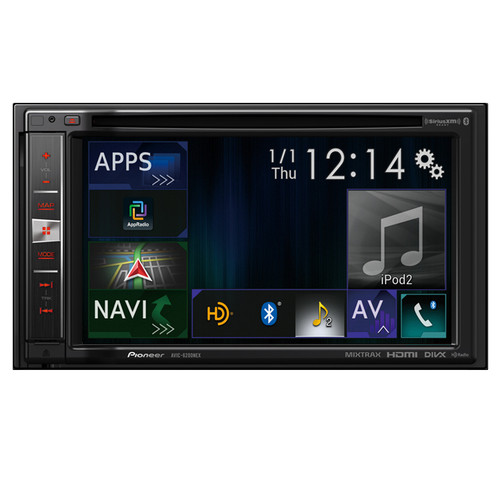 "Pioneer AVIC-6200NEX In-Dash Navigation AV Receiver with 6.2"" WVGA Touchscreen Display"