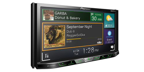"Pioneer DVD Receiver with 6.2"" Display AVH-X2800BS"