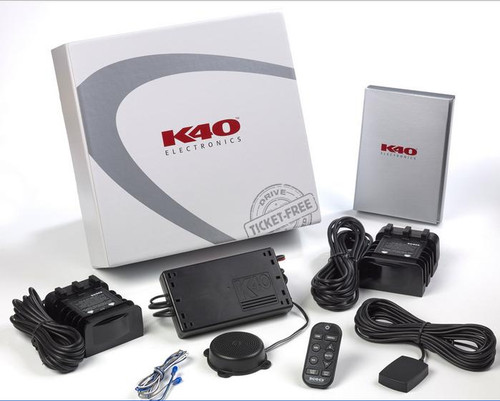 K40 RL360i Radar Detector Dual Remote Radar with GPS Technology