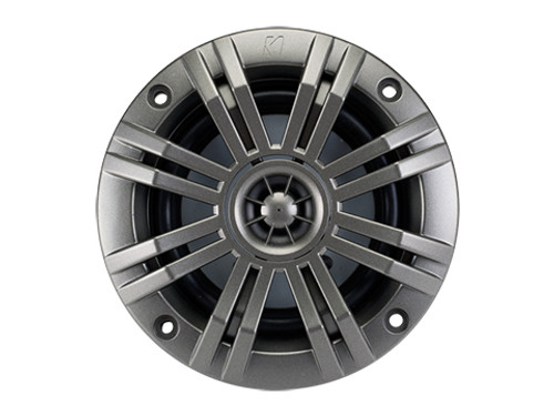 Kicker KM 6.5 inch 2 Ohm Coaxial Marine Audio Speaker