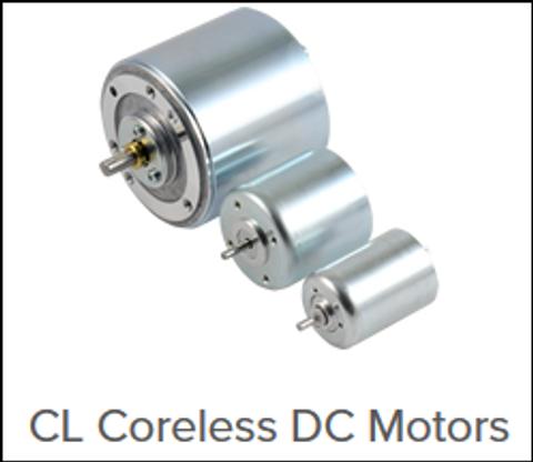 CL family of coreless DC motors