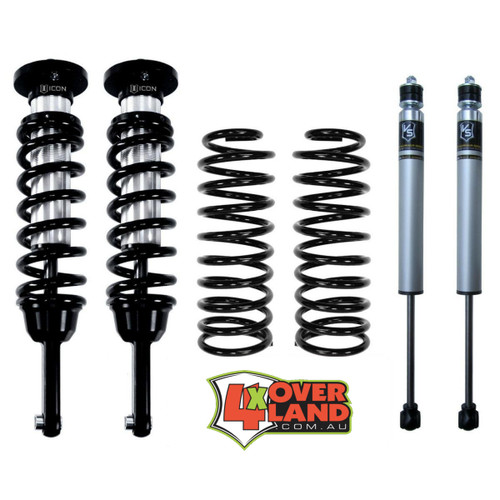 SK70211SLT Toyota200 Series on Icon Suspension Aus Spec Kit Stage 1 Heavy Duty Slinky long travel 75mm lift