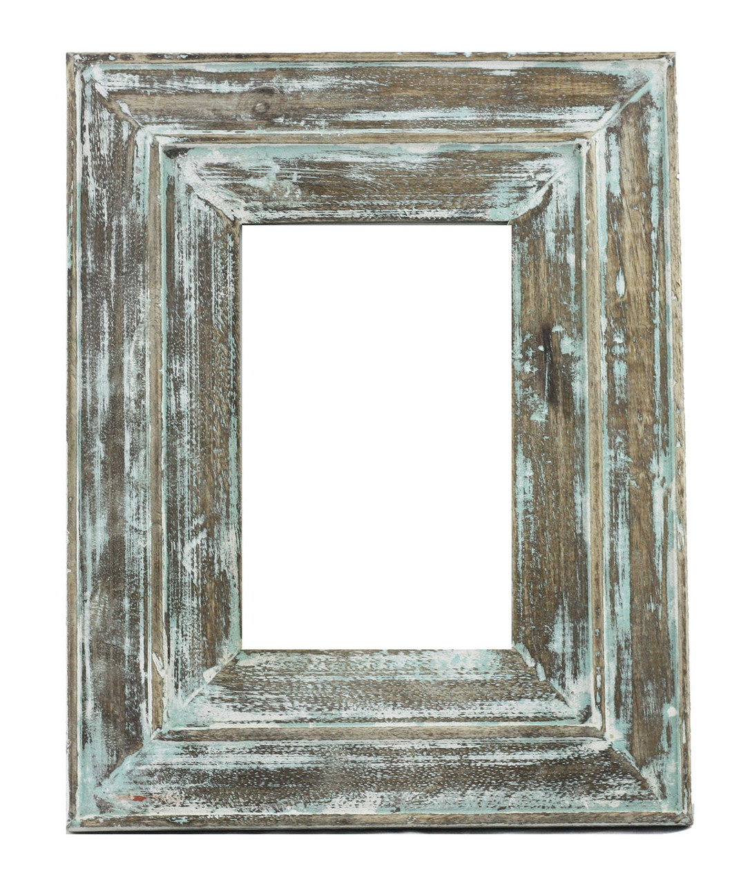 Sea Green Distressed Moudled Photo Frame - Timbergirl