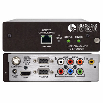 HDE-CHV-QAM/IP MPEG-2 HD Encoder