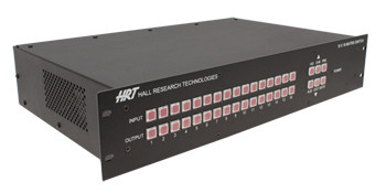 16x16 VGA Video Matrix with Stereo Audio Outputs on CATx