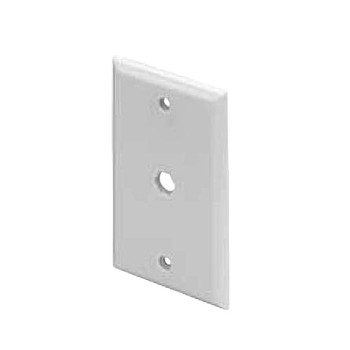 BP1-W Blank Wall Plate - White