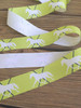 Lime Green and Navy Blue Trotting Pony Ribbon