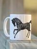 I was normal three horses ago equestrian coffee mug