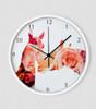 Equestrian Bloom Wall Clock