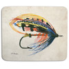 Salmon Fly Fishing Lure Mouse Pad