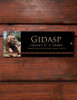 Personalized Tribal Accent Photo Acrylic Horse Stall Name Plate