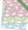Horses all Over Girl's birthday party gift wrapping paper