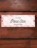 Pink Plaid Custom Horse Stall plate
