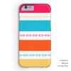 Colorful Modern Striped Horse Bit Pattern Phone Case