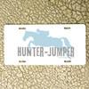 Hunter Jumper Horse Vanity License Plate