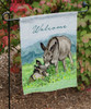 Minature Donkey Lover Garden Flag
