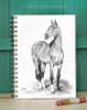 Akhal Teke Horse Art Bullet Journal