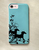 Wild Horses Flourish Phone Case
