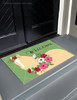 Spring Flower Pony Equestrian Door Mat