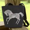 I Was Normal Three Horses Ago Equestrian Tote Bag