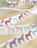 Colorful Fun Horse Pattern Equestrian Ribbon
