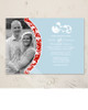 Damask Border Photo Template Wedding Invitation (10 pk)