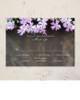 Phlox Flowers Wedding RSVP card (10 pk)