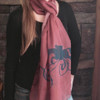 Equestrian Jumping Horses Scarf