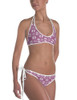 Trotting Ponies Pattern Equestrian Swim Suit