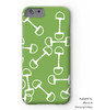 Black and White Horse Bit Pattern Phone Case