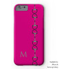 hot pink horse bit equestrian phone case