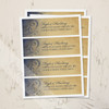 Navy and Gold Bohemian Return Address Labels