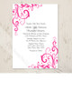 Elegant Flourish Wedding Invitation (10 pk)