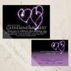 Heart Sparklers Wedding RSVP card (10 pk)