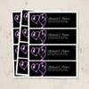 Heart Sparklers Return Address Labels