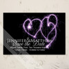 Heart Sparklers Save The Date Postcards (25pk)