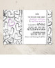 Fun Grunge Hearts Wedding Invitation (10 pk)