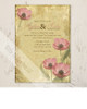 Poppy Flowers Wedding Invitation (10 pk)