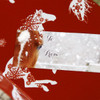 Winter Horse Christmas Gift Tag Labels