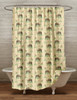 Horses and Foals Shower Curtain