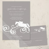 Equestrian Juping Horse Wedding Invitation (10 pk)