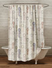 Horse Show Ribbons Equestrian Themed Shower Curtain