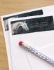 Dappled Grey Horse Head Return Address Labels