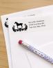 Damask Horse Return Address Labels
