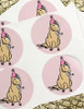 Birthday Pony Party Stickers Pack