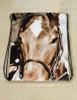 Horse Eyes Equestrian Drawstring Gym Tote Bag