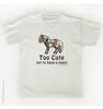 Too Cute Pony Kids T-Shirt