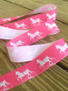 Pink Gaited Saddlebred Horse Ribbon